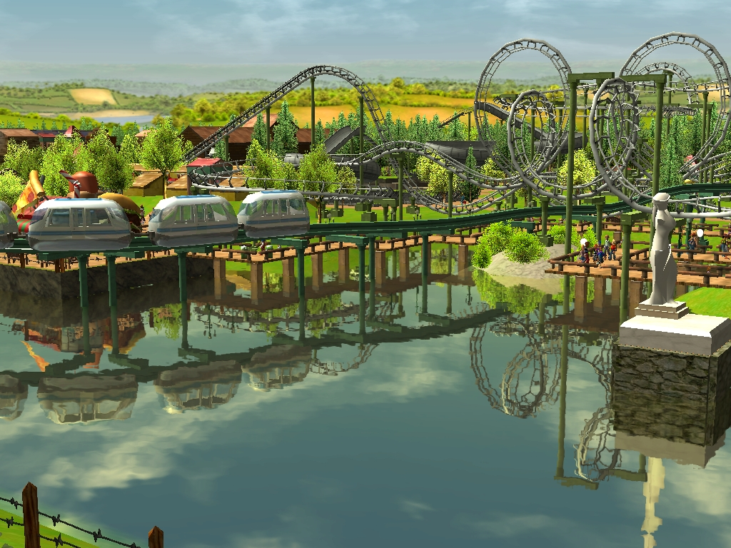 THE RCT VAULT - Scenarios recreated for Rollercoaster Tycoon 3